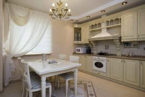 Дизайн интерьера классической кухни