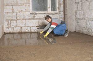 Открытые бетонные полы и способы их отделки